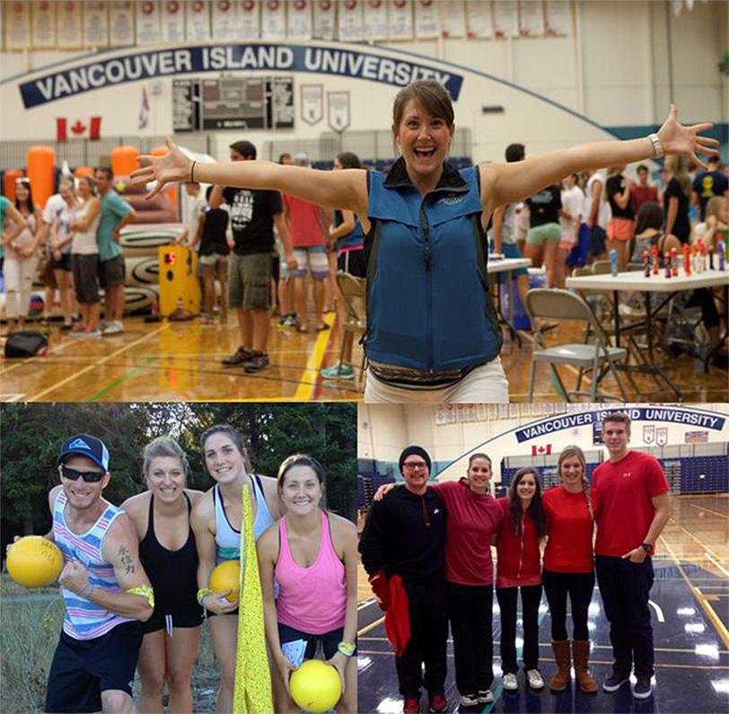 VIU Campus Rec activity images