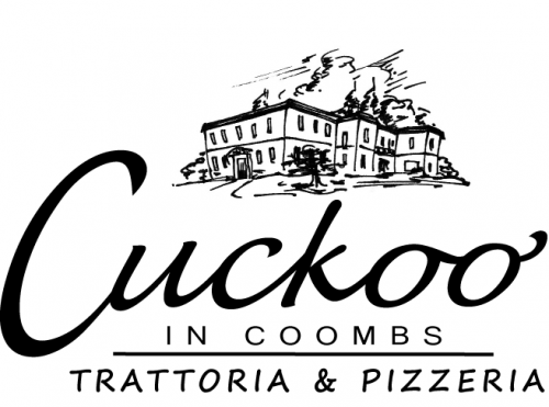 Cuckoo in Coombs Trattoria and Pizzeria Logo