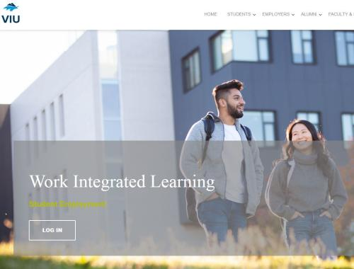 Student Employment Portal Home Page