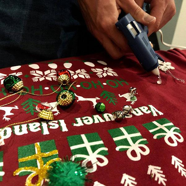 Holiday Sweater Making
