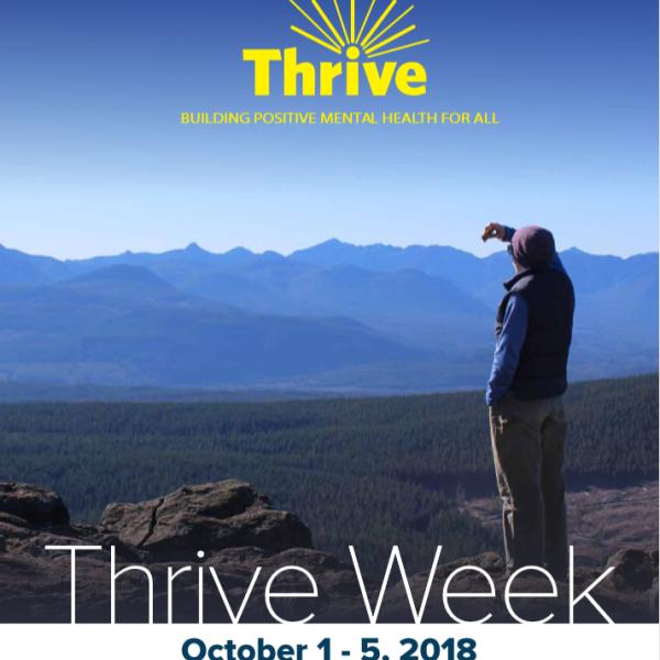 VIU Thrive Week Poster Hiking