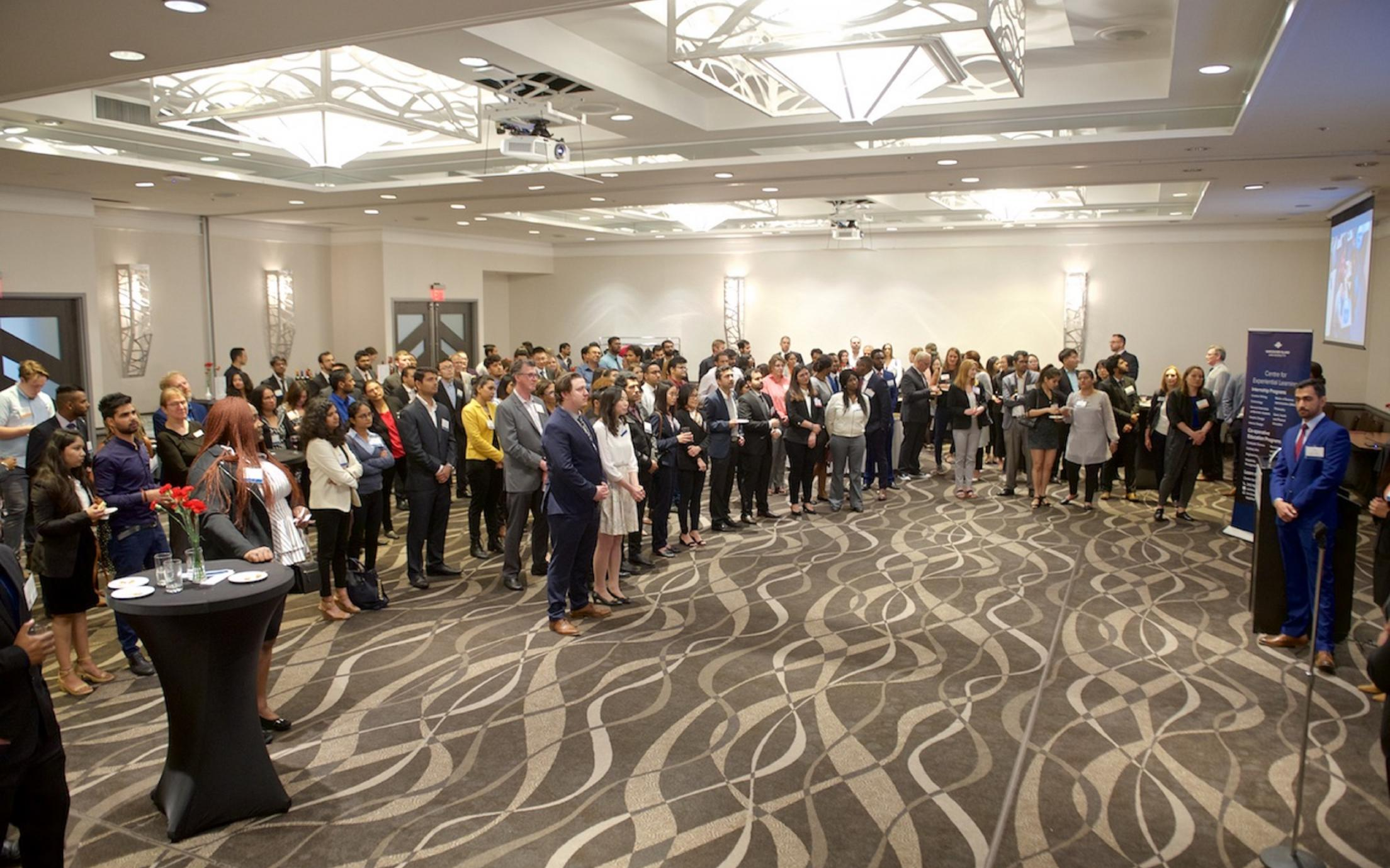 Attendees at the 2019 Business Mixer at the Coast Bastion Hotel