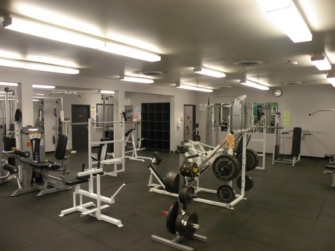 Gymnasium facilities services campus recreation viu