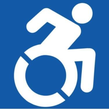 active person in wheelchair