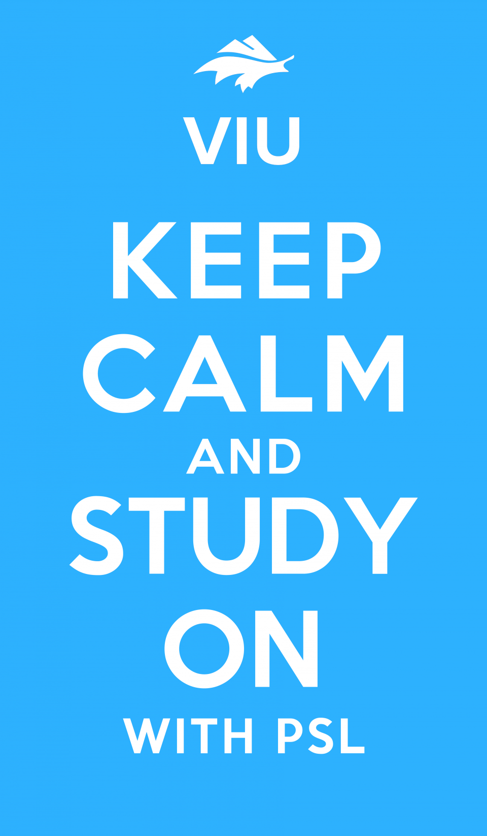 Keep Calm and Study on with PSL